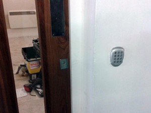 Abbeygate Locksmiths Entry System install2