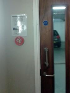 Abbeygate Locksmiths Fire Door install