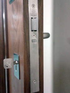 Abbeygate Locksmiths Fire Door install3