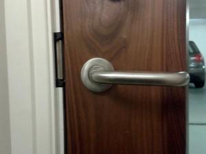 Abbeygate Locksmiths Fire Door install5