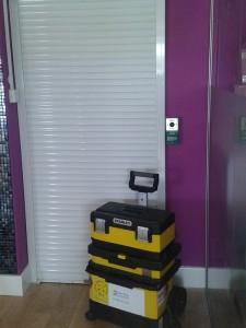 Abbeygate Locksmiths Roller Shutter Door EmergencyExit3